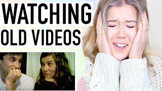 REACTING TO MY OLD VIDEOS (& EX BOYFRIEND TAG)