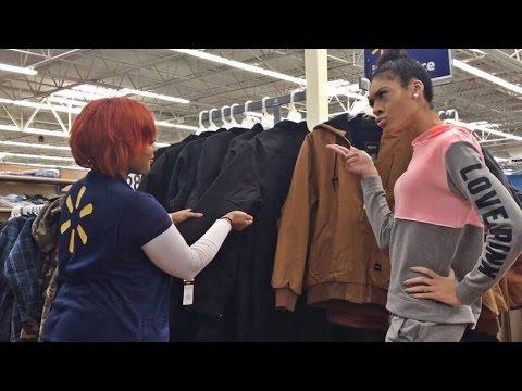 MANNEQUIN Challenge In Walmart !!   Itsbambii