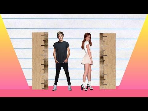 How Much Taller? - Niall Horan vs Lana Del Rey!