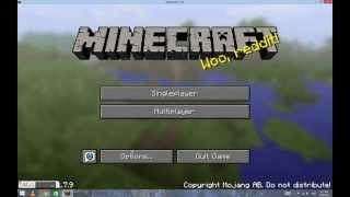 How to make Minecraft in Full Screen