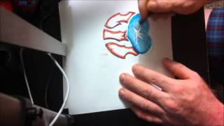 how to draw puertorican flag for tattoo idea easy