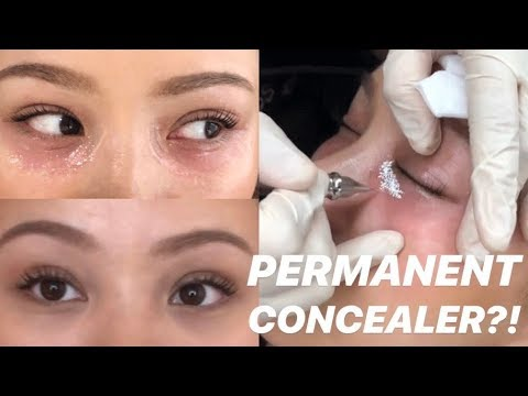 Trying Permanent Concealer You