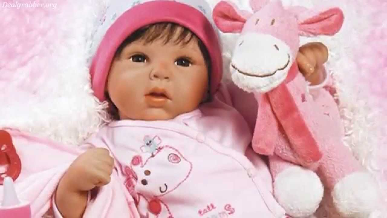 Lifelike Realistic Baby Doll By Paradise Galleries Youtube