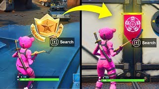 WEEK 10 SECRET BANNER SEASON 8 LOCATION GUIDE – Fortnite Find the Secret Banner in Loading Screen 10
