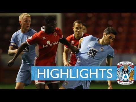 Highlights | Walsall 2-2 Coventry (City win on Penalties)