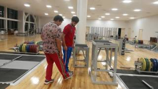 Тренируемся запрыгнуть выше своего роста ч.2 / Тренировки с тренером сборной России Яркиным В