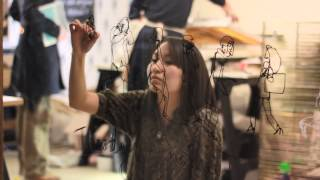 Jayoon Choi live people drawing performance