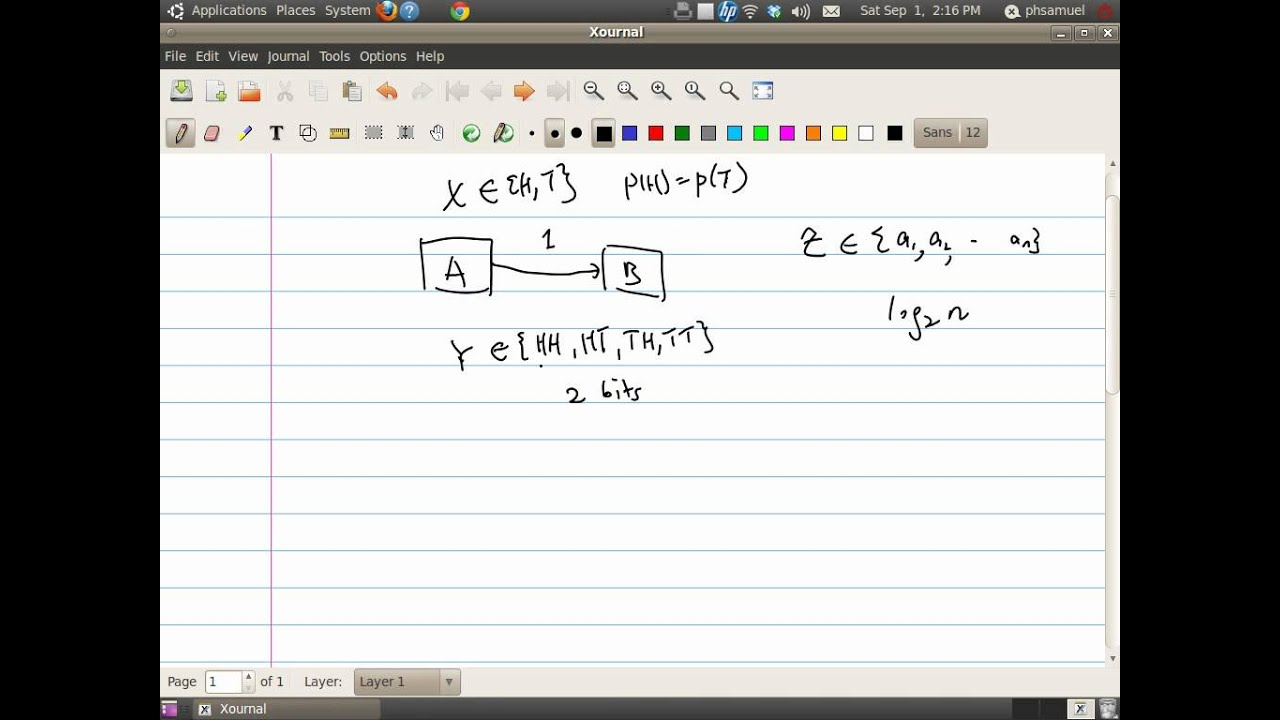 An Introduction to Information Theory-2  Shannon Entropy