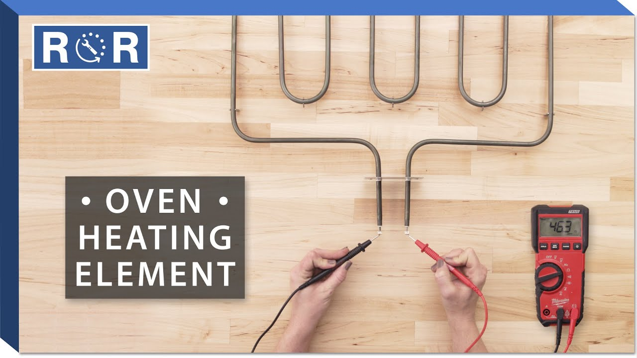 Oven Heating Element Continuity Test Youtube