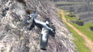 BeamNG.drive - X18 Fighter Jet - V1