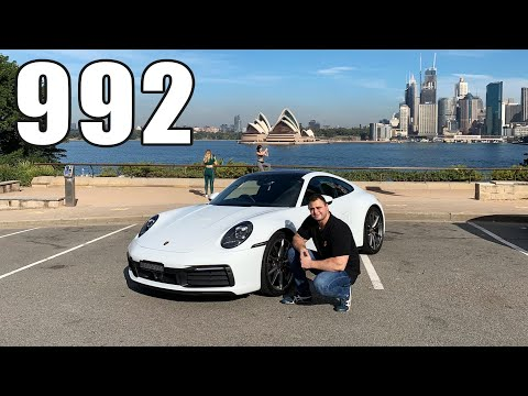 Driving the all new 2019 Porsche 911 992 Carrera 4S Review