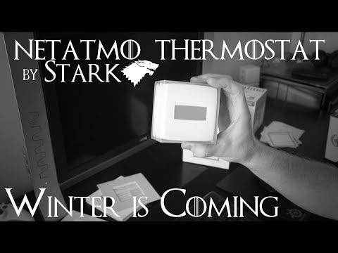 Le thermostat connecté Netatmo: Déballage, Installation, Utilisation et Avis !