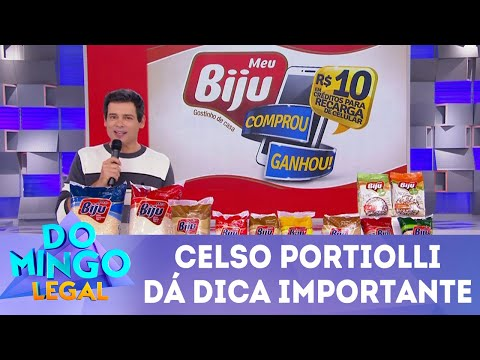 Celso Portiolli dá dica importante | Domingo Legal (27/05/18)