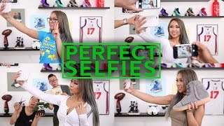 HOW TO TAKE THE PERFECT SELFIE w/ Instagram Model!