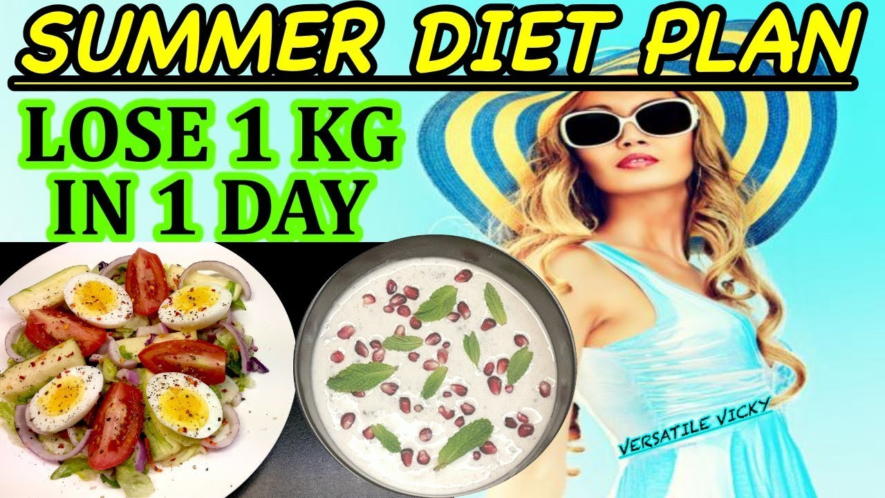 How To Lose Weight 1Kg In 1 Day   Diet Plan To Lose 1 Kg ...