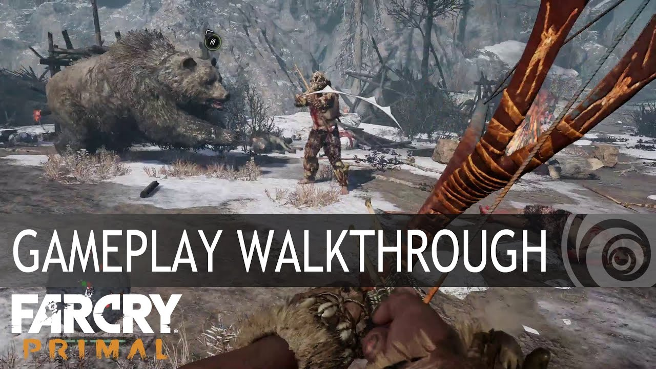 Far Cry Primal Gameplay Walkthrough Europe Youtube