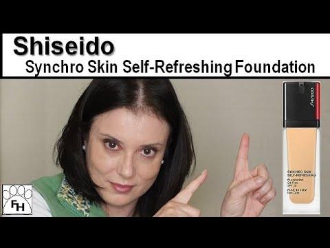 Shiseido New Synchro Skin Self-Refreshing Foundation Review