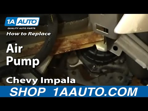 How to Replace Air Pump Electric Motor 00-02 Chevy Impala | 1A Auto