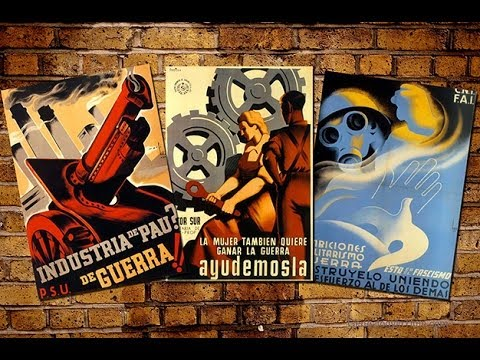 Spanish Civil War Propaganda Posters 1936 - 1939 Spanish Music