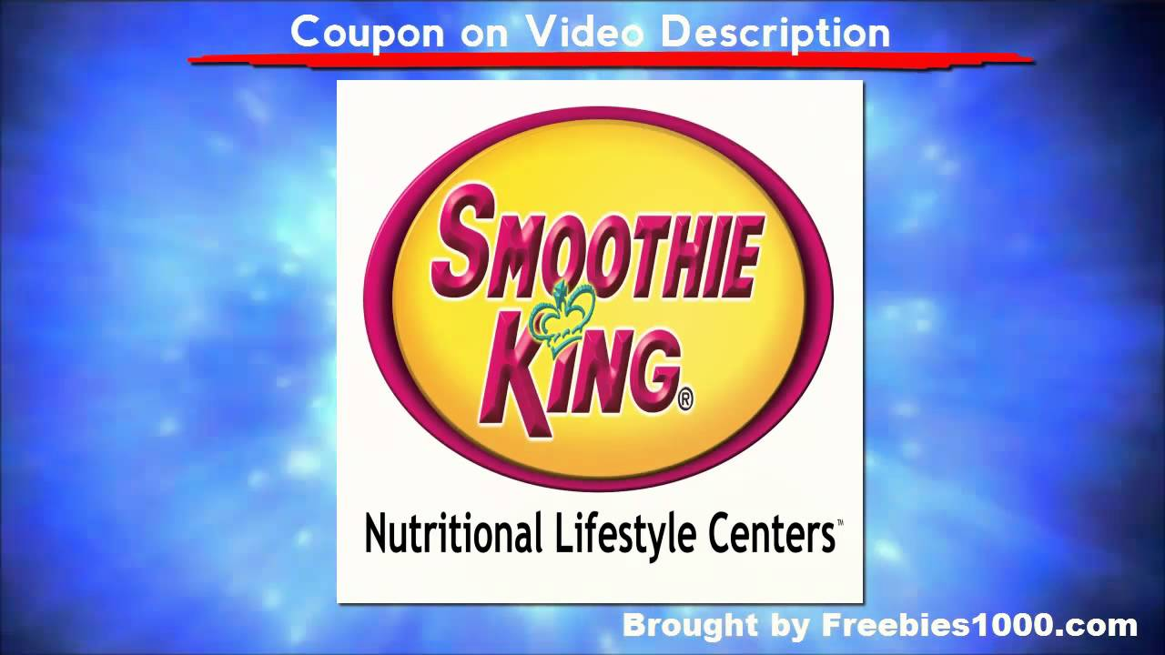 photograph about Smoothie King Printable Coupon titled Smoothie King Coupon codes - Printable Smoothie King Coupon codes
