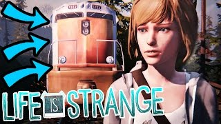 DO NOT GET KILLED BY THE MOVING TRAIN... [INTENSE] - Life Is Strange - Part 3