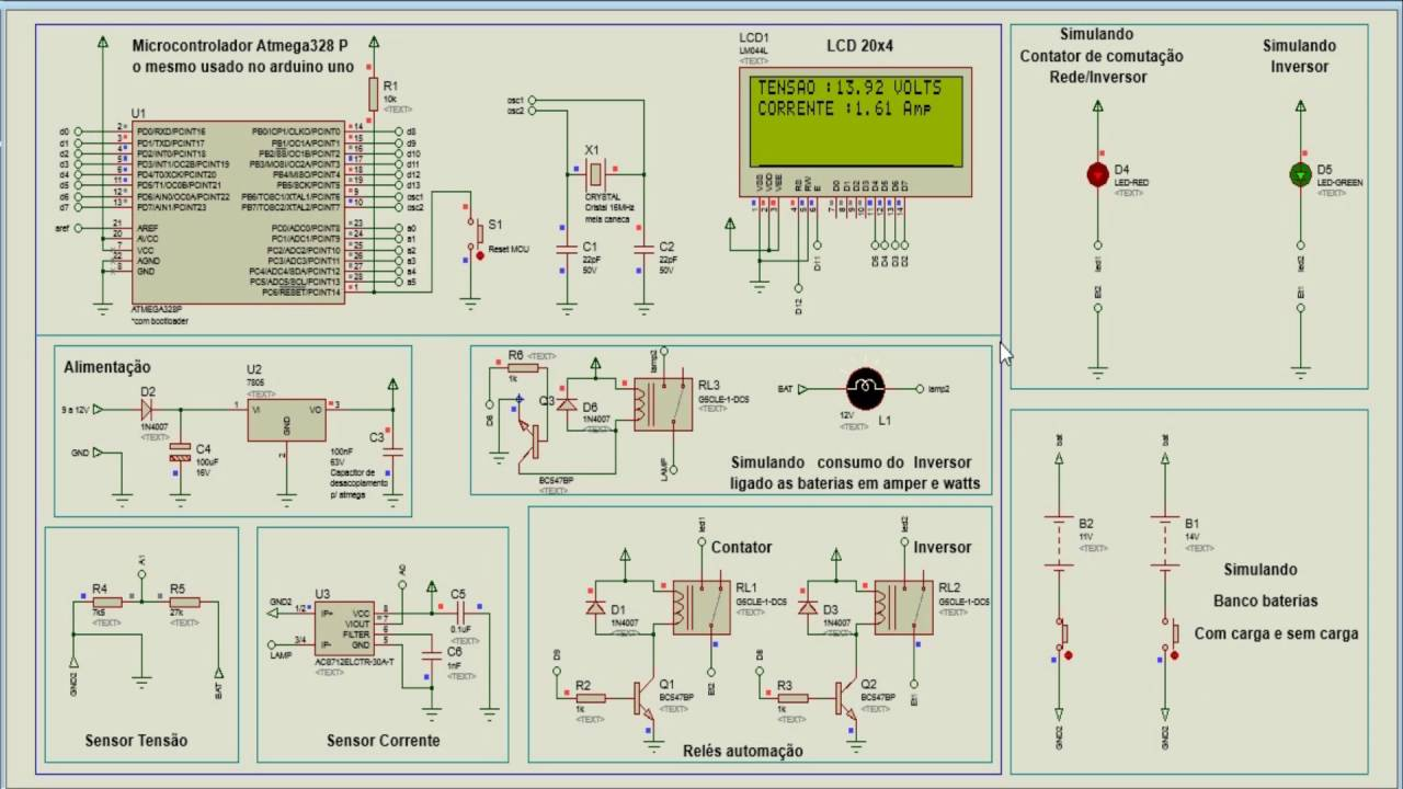 Proteus Energia Solar Ou E 243 Lico Automa 231 227 O Alternando