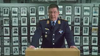 Grußworte Oberstleutnant Thomas Sandlein zum Gedenktag Befreiung KZ-Außenlager Dachau / Kaufering