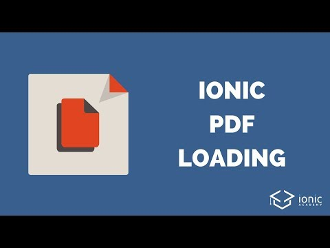Open & Download PDF Files with Ionic