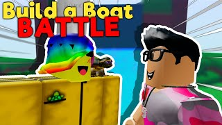 [REACTION] Build a Boat BATTLE: Tofuu vs Hyper (Roblox)
