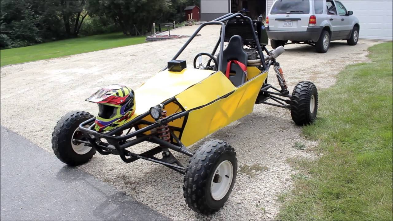 Kart Cross Buggy Build 1990 Gsxf 750cc Go Kart Shifter Kart Dune Buggy Go Kart With Motorcycle Engine