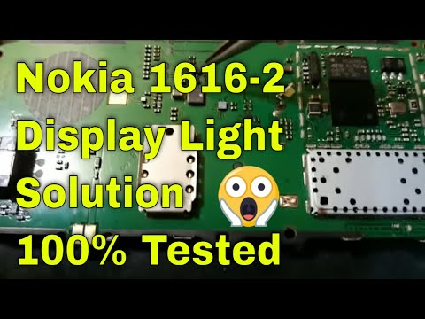 Nokia 1616-2 display light solution 100% tested
