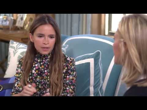 Tory Burch and Miroslava Duma Buro Interview - YouTube
