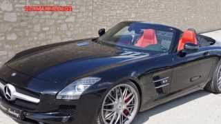 Senner Mercedes-Benz SLS63 AMG Roadster 2013 Videos