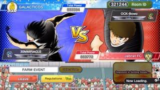 Friendly Match vs OP Mix Japan - Captain Tsubasa Dream Team