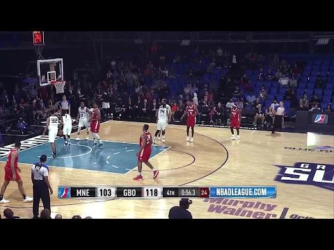 Highlights: Jordan Mickey (24 points)  vs. the Swarm, 3/31/2017