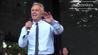 Robert F  Kennedy Jr   Demo 29 08 20  #Berlin