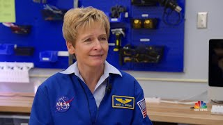 Legendary Astronaut Peggy Whitson Inspires The Next Generation Of Space Explorers | NBC Nightly News