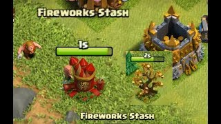 What Happens If You Remove Fireworks Stash And Lunar New Year Tree Clash of Clans 2018
