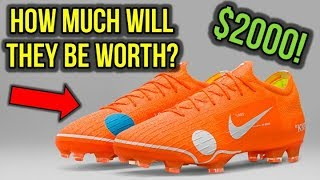 8248421a1f5 RESELLING THE OFF-WHITE NIKE MERCURIAL VAPOR 12!  HOW MUCH WILL THEY BE  WORTH   - Vloggest
