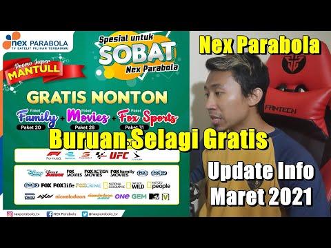 Update Promosi Nex Parabola Maret 2021