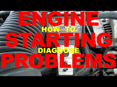 Diagnose car STARTING PROBLEMS - no start, Battery, Bad Conn