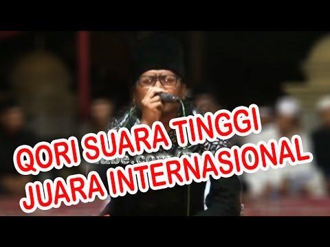 Qori Suara Tinggi, KH Mu'min Ainul Mubarok, Juara Internasional