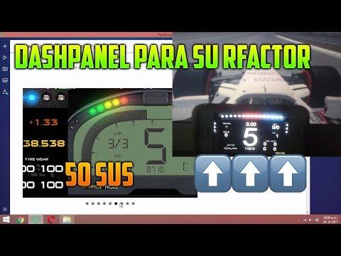 DashPanel Para RFactor! 50 SUS😱💪❤