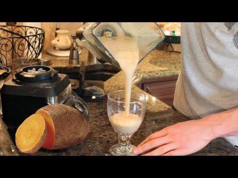 Post-Workout Protein Shake:  Sweet Potato Protein Shake