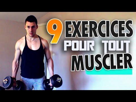 Musculation avec haltères : 9 Exercices pour tout muscler !