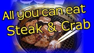 Steak & Crab - All you can Eat - Eric Meal Time #35