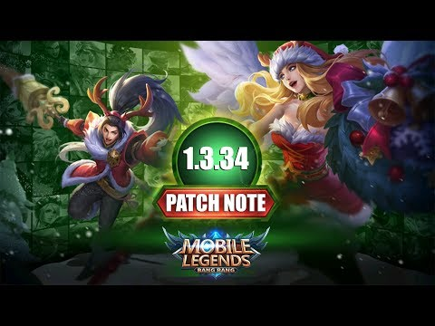 LORD REMAKE, MONSTER JUNGLE REMODEL, MAP REWORK , BUFF/NERF HERO - PATCH NOTE 1.3.34