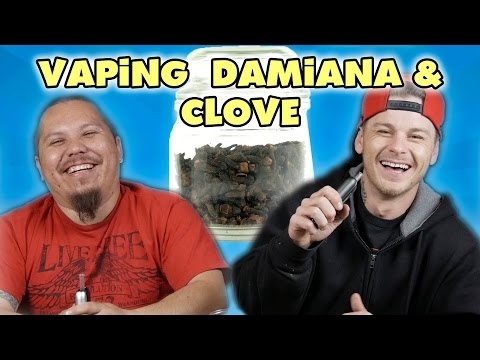 Vaping Damiana and Cloves for The First Time with the Ascent Vaporizer