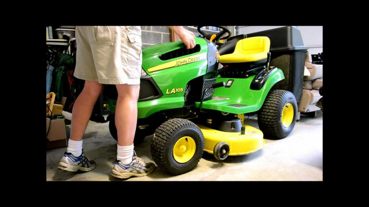 John Deere Lawn Tractor Tune Up Step 4 Of 5 Changing Out The Spark Plug
