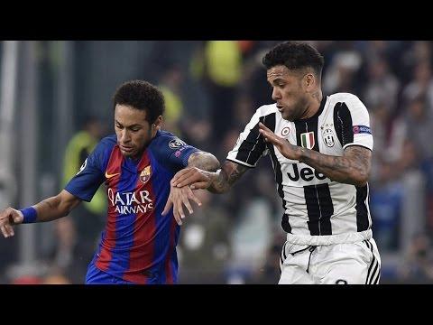 Dani Alves VS FC Barcelona (Home) UCL 720p (12/04/2017)